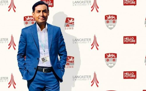 A serial entrepreneur, Anser relocated from Pakistan for an MBA at Lancaster University