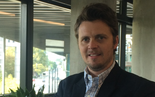 Martin Amstalden is studying for an MBA in France