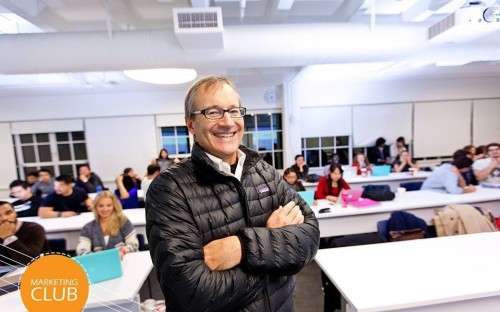 Charlie Sheppard, Guest Speaker for the Hult Marketing Club