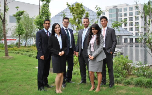 Students at CEIBS in Shanghai are turning to entrepreneurship in higher numbers