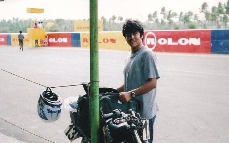 Ruchir has been passionate about motocross since he was a kid