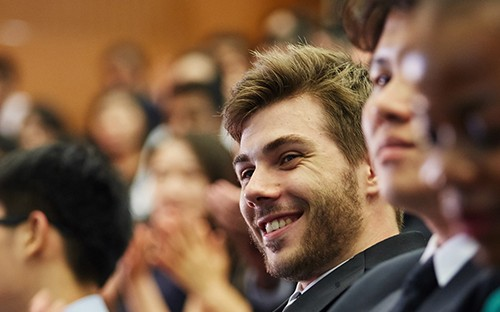 Alex Sonnenwald is an MBA student at Hong Kong's CUHK Business School