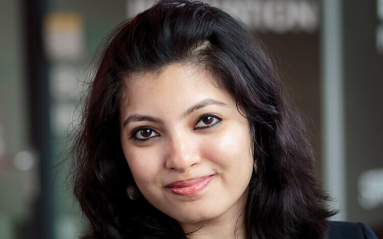 Triparna's MBA landed her a coveted role at Roche