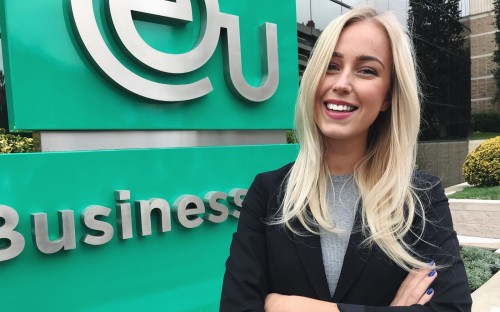 Fanny Skoglund is a student at EU Business School based in Barcelona