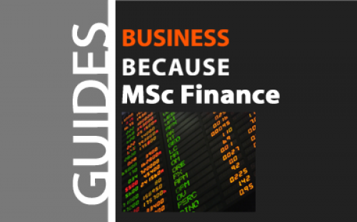 Prices of MSc Finance programs vary a lot - there are some great deals out there