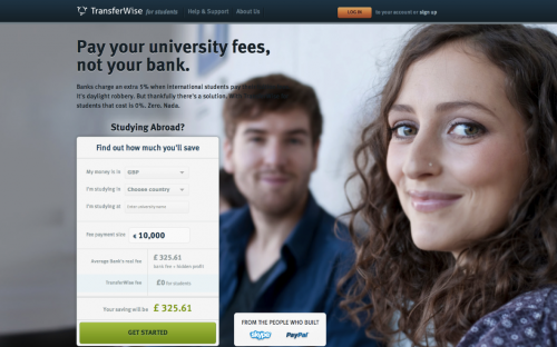 Transferwise is helping MBAs who study abroad send money back home