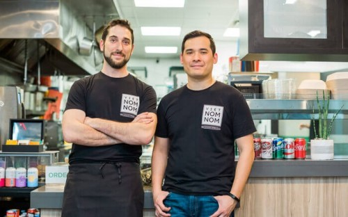 Kellogg MBA Noah Bleicher (left) and his partner Alan Moy are owners of Viet Nom Nom