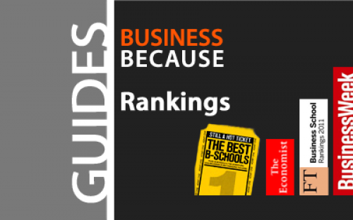 The Bloomberg BusinessWeek rankings only come out once every two years