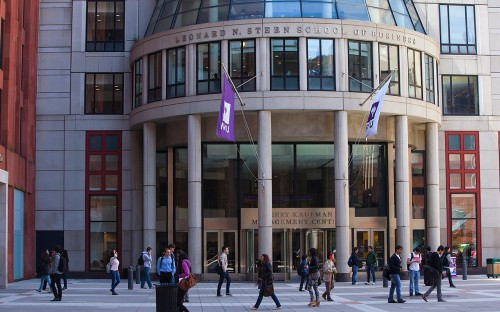 NYU Stern prefers meeting MBA applicants on campus
