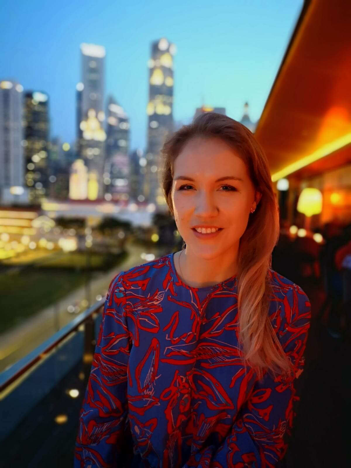 kseniia landed a job with citigroup in singapore
