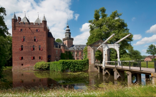 Nyenrode's campus is home to a deer park, a rose garden, and even a maze