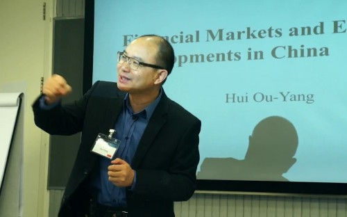©CKGSB—Professor Ou-Yang Hui taught at Duke Fuqua in the US before returning to China