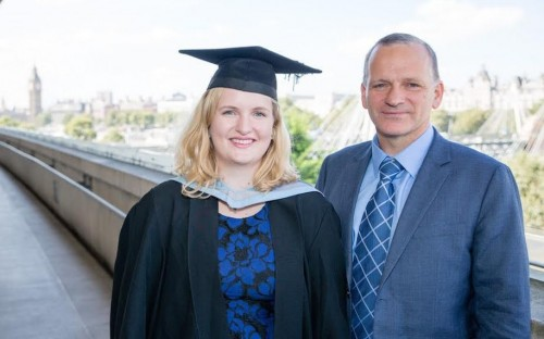 Malene and Ole Eiksund both attended Hult International Business School in London