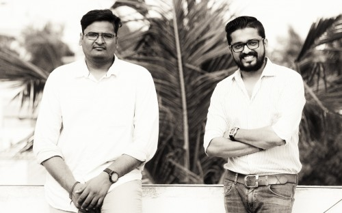 Mukesh and Jaidev (L to R) graduated with MBAs from Aston Business School in 2014