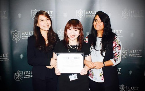 (Right to left) Dayana, Jercyl and Gopi make up Team Faeth