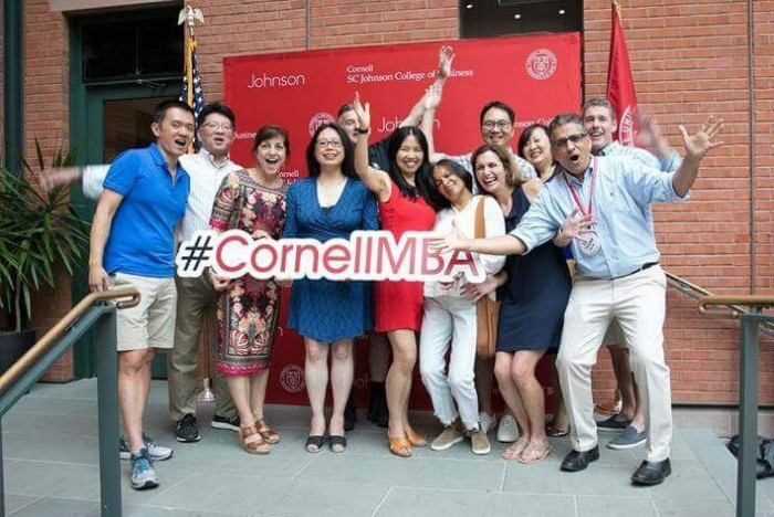 (c) Cornell: With Cornell Johnson's new Tech MBA, the school is at the forefront of innovation