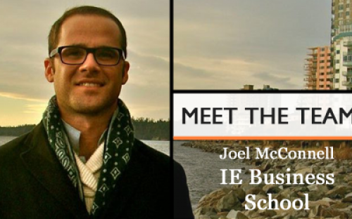 Joel McConnell, Director for Financial Aid at IE Business School and an IE MBA
