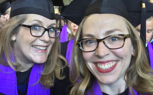 Jessica and Allison (left to right) came out the 16-month HEC Paris MBA as firm friends