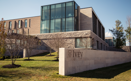 The Richard Ivey Business School is based in Ontario, Canada, but its focus is international