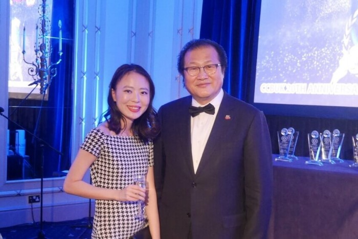 Jing Shang was invited to network with Chinese investors in London thanks to Aston Business School
