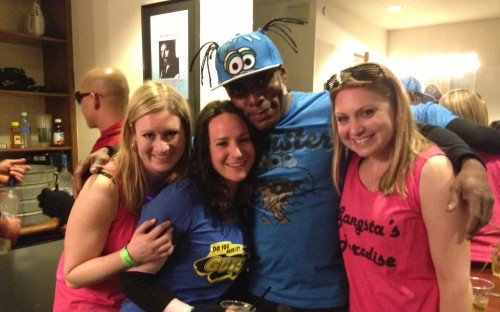 Coolio and the gang: it was less Gangsta and more MBA Paradise at the Boothies getaway!