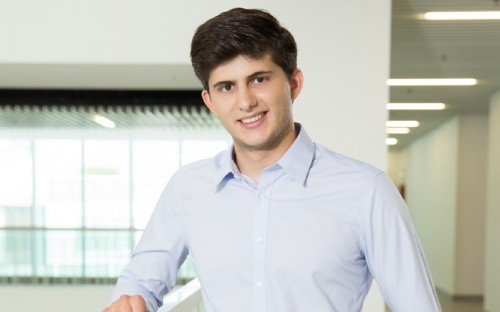 Gerardo Salandra is studying for an MBA in Hong Kong