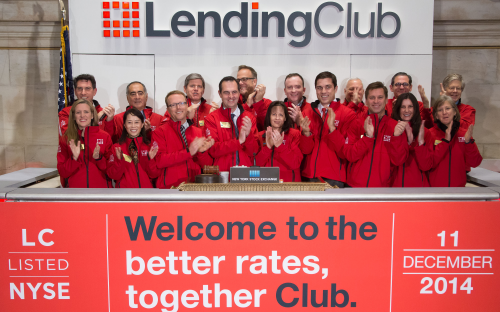 Lending Club, an HEC Paris MBA-founded company, floated on the NYSE last Christmas