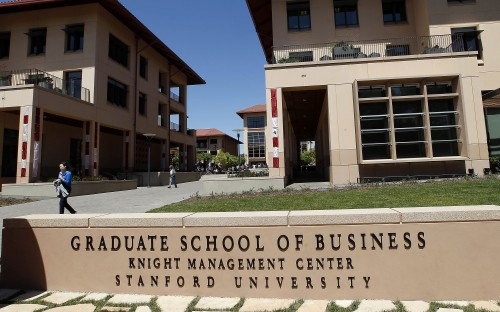 Silicon Valley's Stanford Graduate School of Business