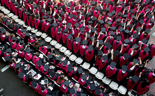 The percentage of Harvard MBA students founding their own businesses was 27% in 2011