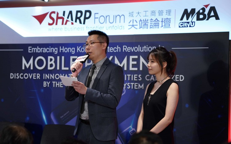 Vincent Chow networked with top Hong Kong businesspeople while planning his SHARP Forum event