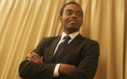 """Chike says the MSc International Health Management is like a """"mini MBA"""""""