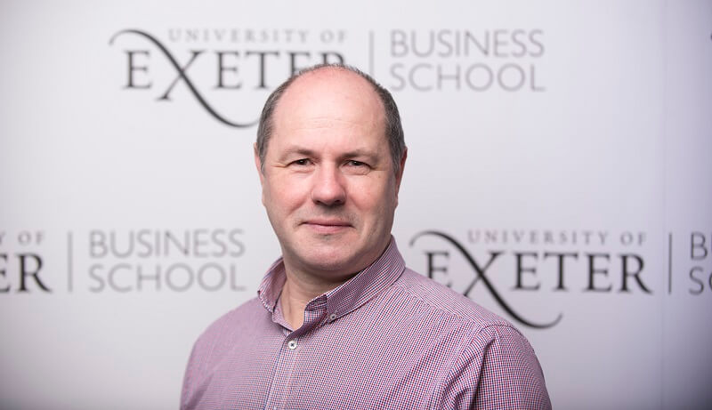 Dominic Prosser of Exeter Business School thinks it's too early to know the impact of covid