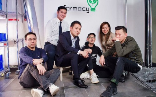 The Farmacy HK team were formed out of the University of Hong Kong's Business Lab