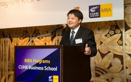 Charles Wang worked in the business innovation department for Samsung in Beijing