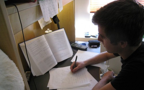 The GRE adapts to your ability on a section to section basis so its important to study hard.