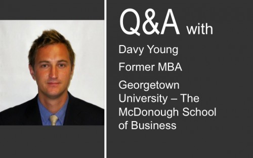 Georgetown MBA Davy Young works in cloud-computing