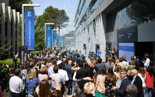 Inauguration of ESADE Business School's Rambla of Innovation