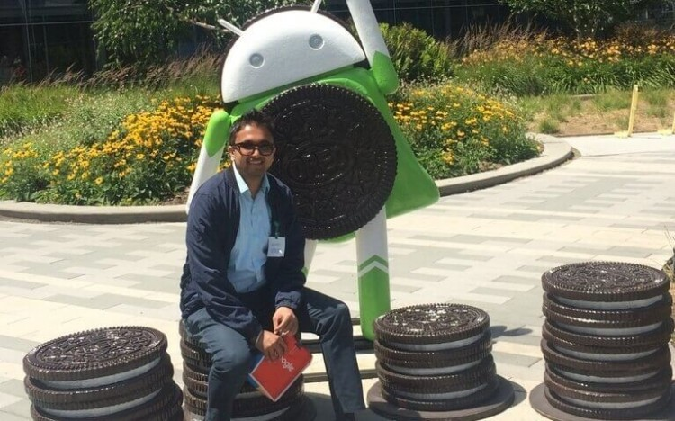 Siddhant Bansal sees a motivational message in Google's continued growth