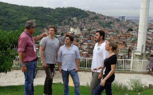St. Gallen MBA students visited urban shantytowns, called favelas, in Rio de Janeiro