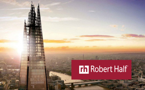 Robert Half is based in London's The Shard, Europe's tallest building