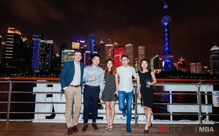 CEIBS MBA bootcampers meet in Shanghai