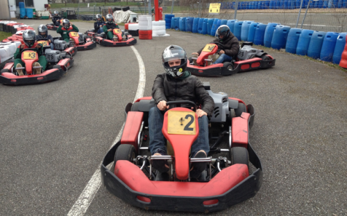 The karting team from HEC Paris will participate this weekend!