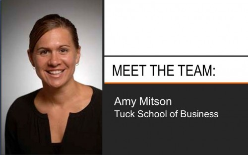 Amy Mitson has been working at Tuck for 13 years!
