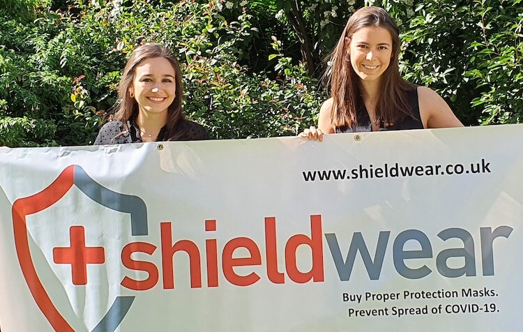 Jayne Lawson and Claire Blumenthal met on the London Business School MBA before founding ShieldWear