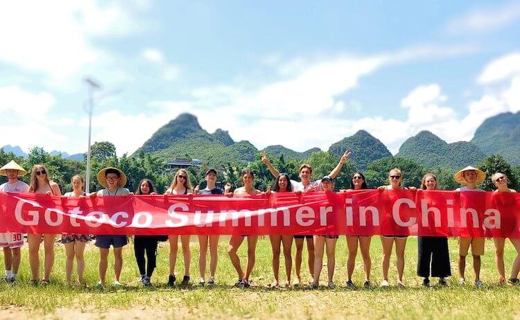 Tsinghua MBA Danny Parrott's Gotoco runs summer volunteer programs in China
