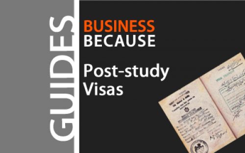 In some countries there is no specific post study visa system