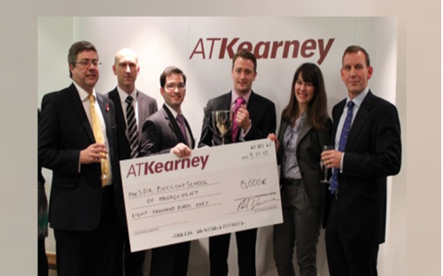 SDA Bocconi MBAs were crowned A.T. Kearney's global champions after three gruelling rounds