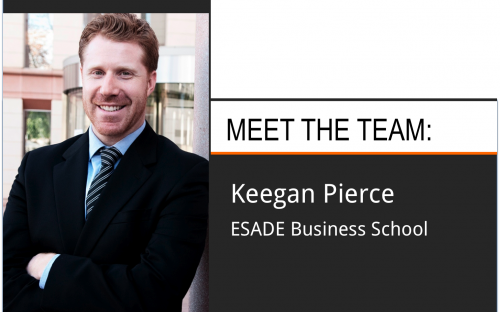 Keegan Pierce, MBA, is the Associate Director of Admissions at ESADE