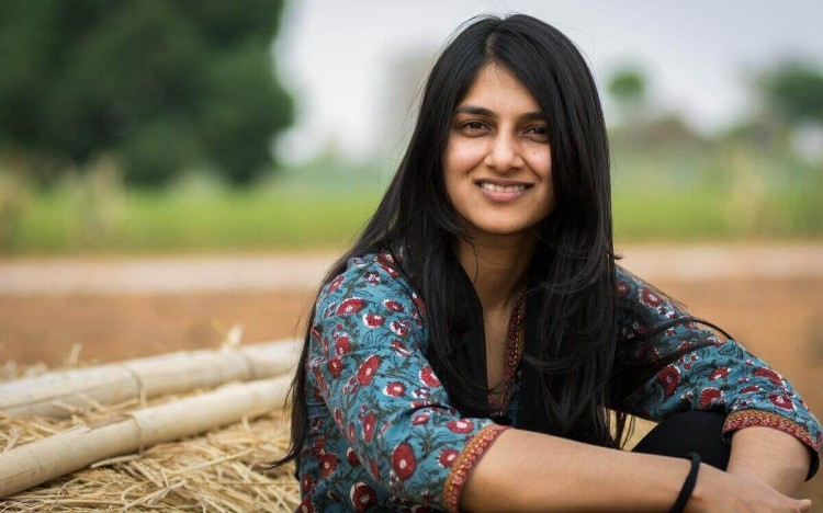 Saumya is a social entrepreneur helping farmers in India tackle the effects of climate change