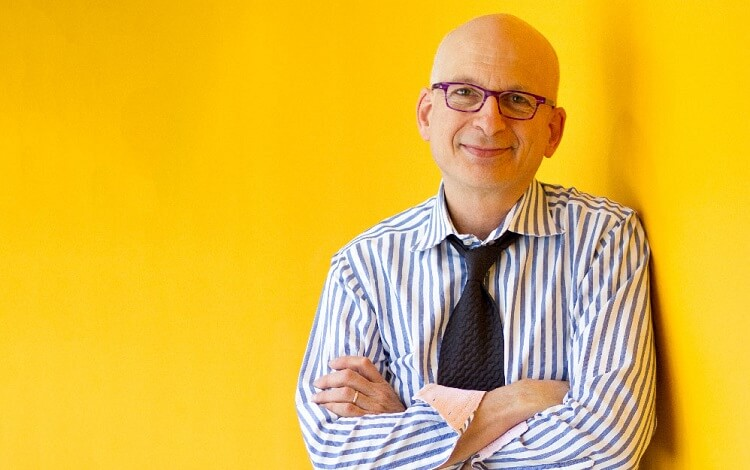 Seth Godin is a podcaster, TED Talk presenter and author. He's also a Stanford University MBA notable alumnus